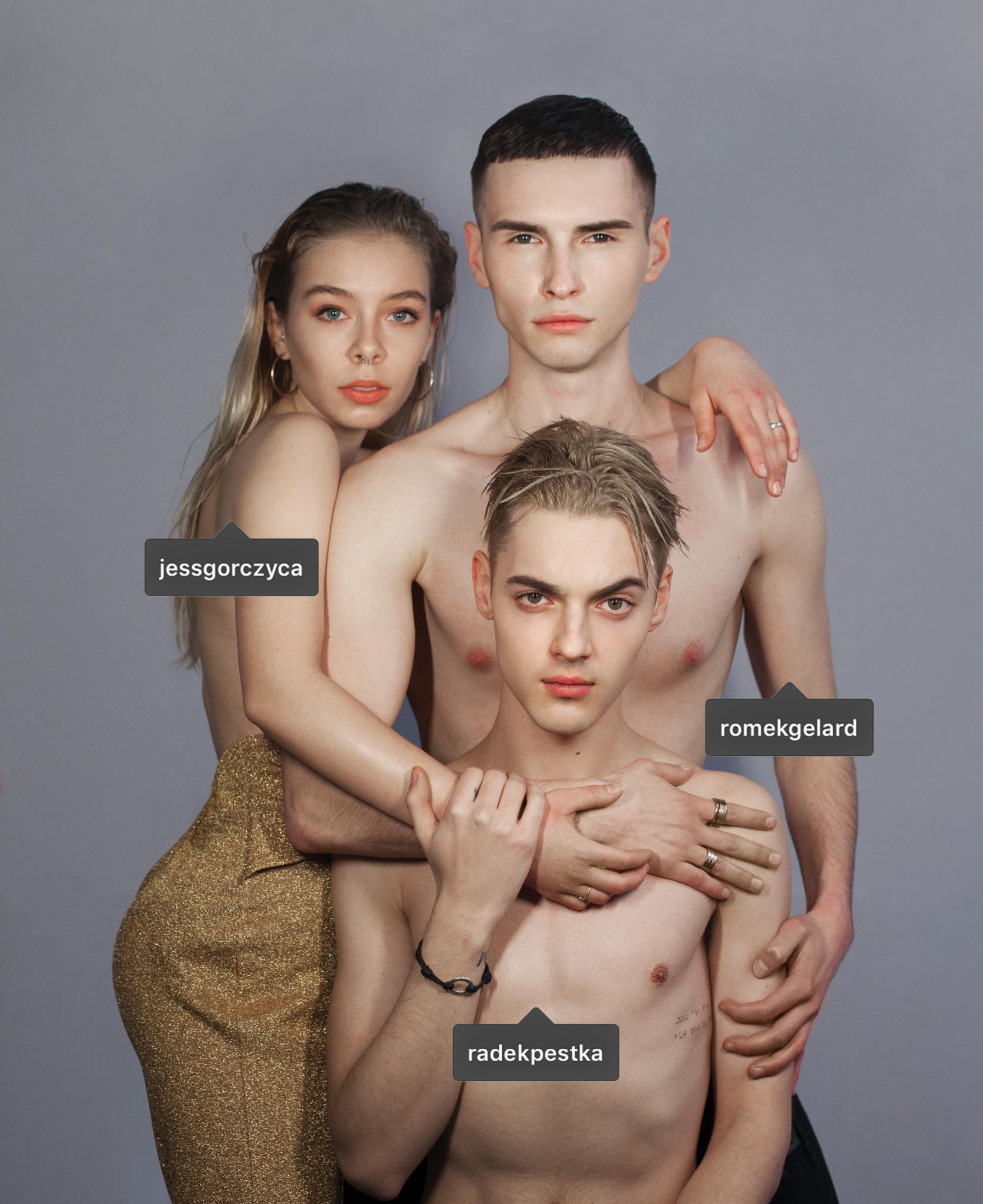 Jessica Gorczyca, Radek Pestka, Romek Gelard